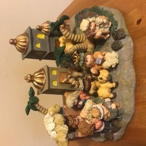 Resin Cute Nativity Scene